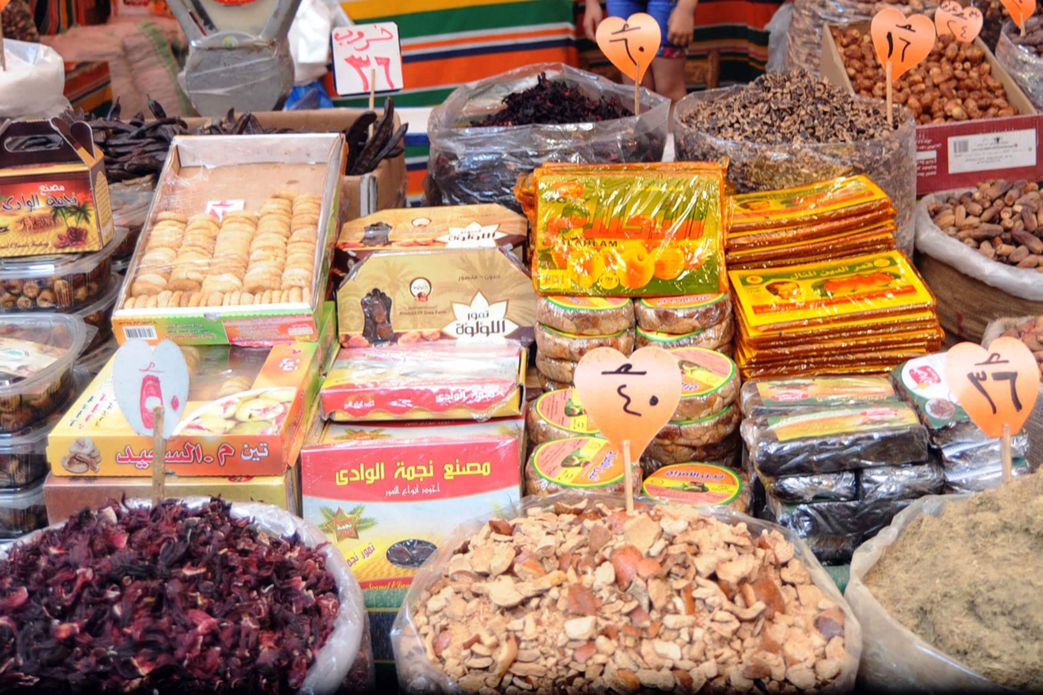 الركود يسيطر على أسواق الياميش بالإسكندرية (7)