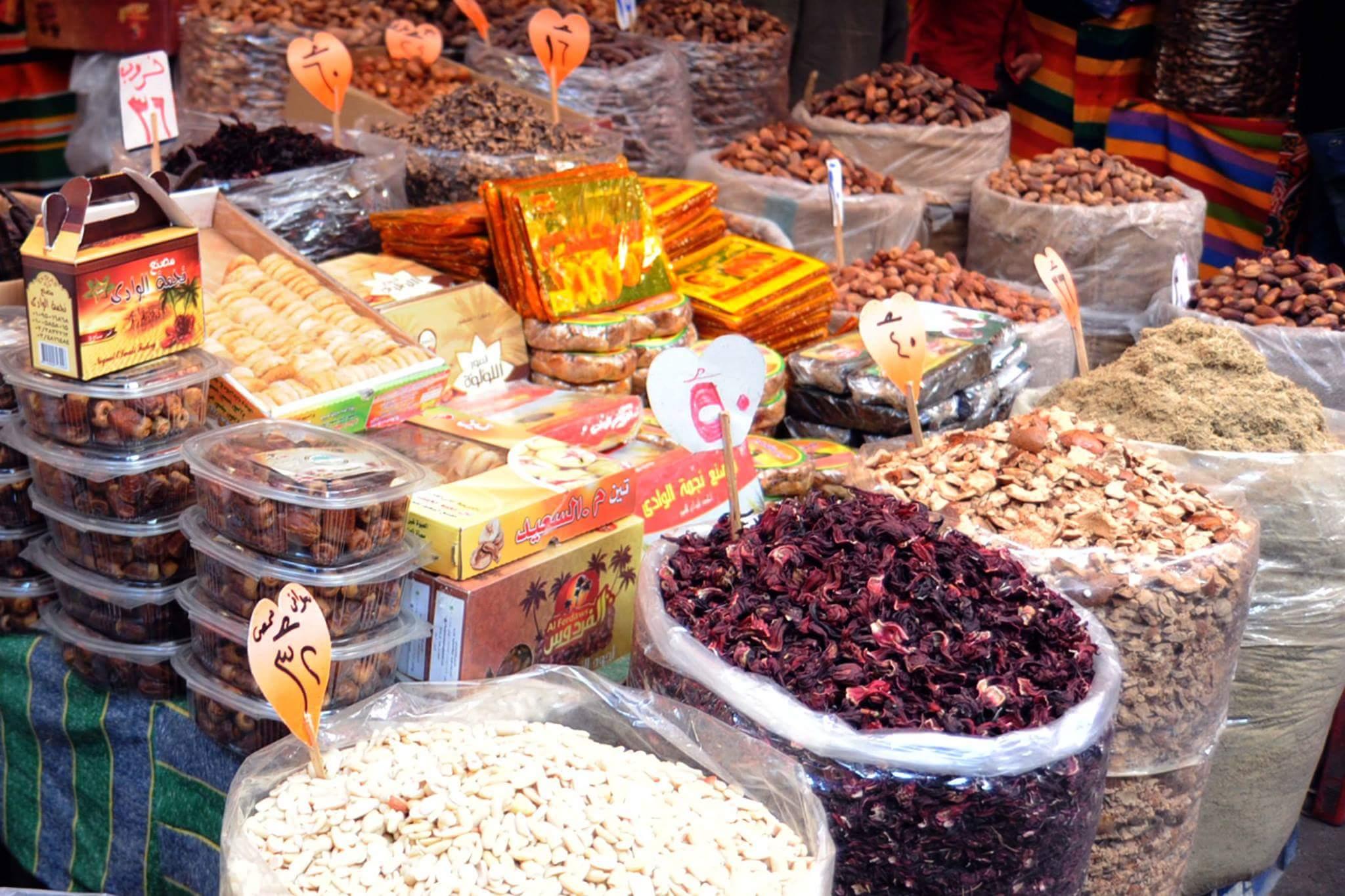 الركود يسيطر على أسواق الياميش بالإسكندرية (8)