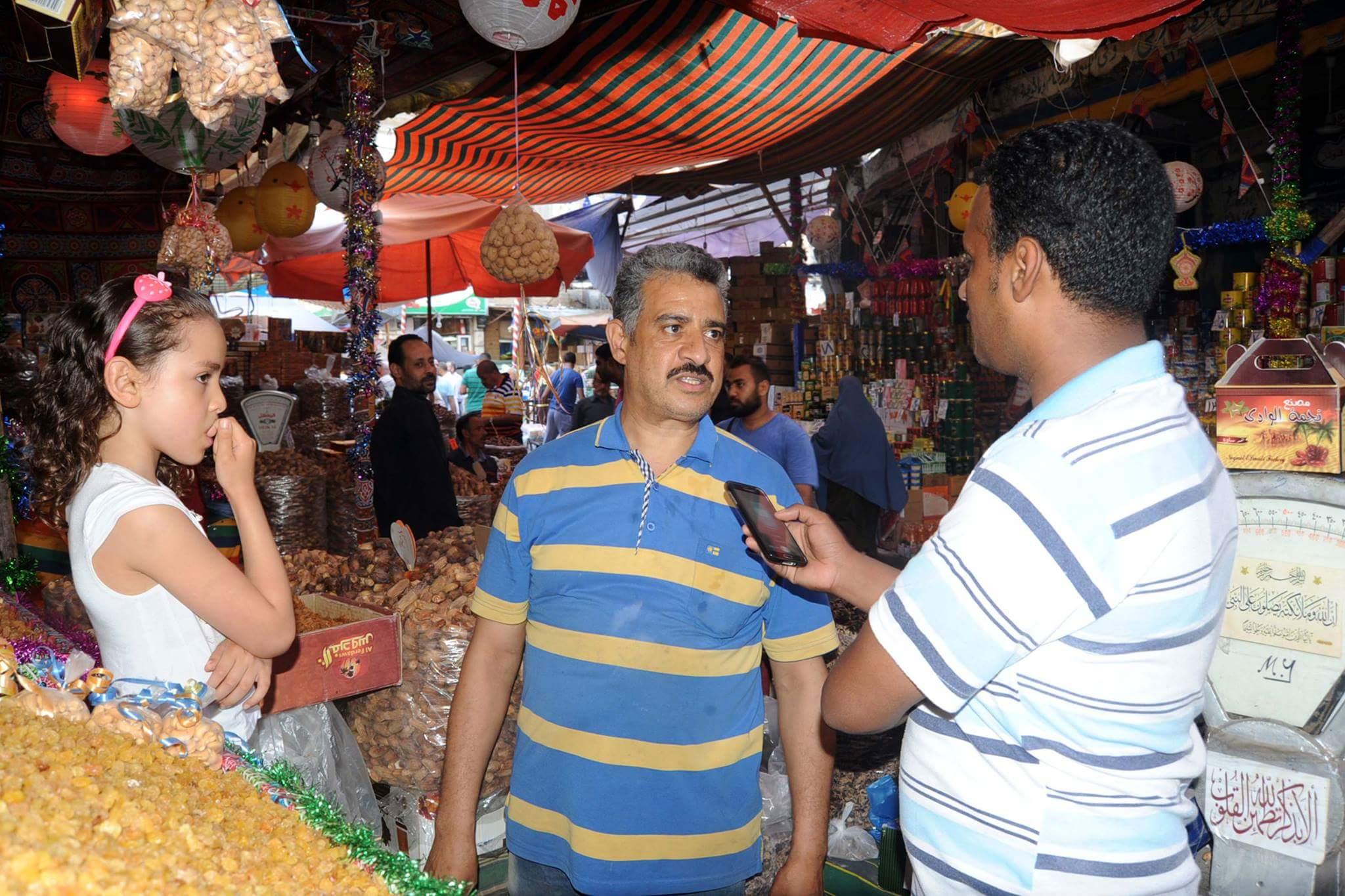 الركود يسيطر على أسواق الياميش بالإسكندرية (3)