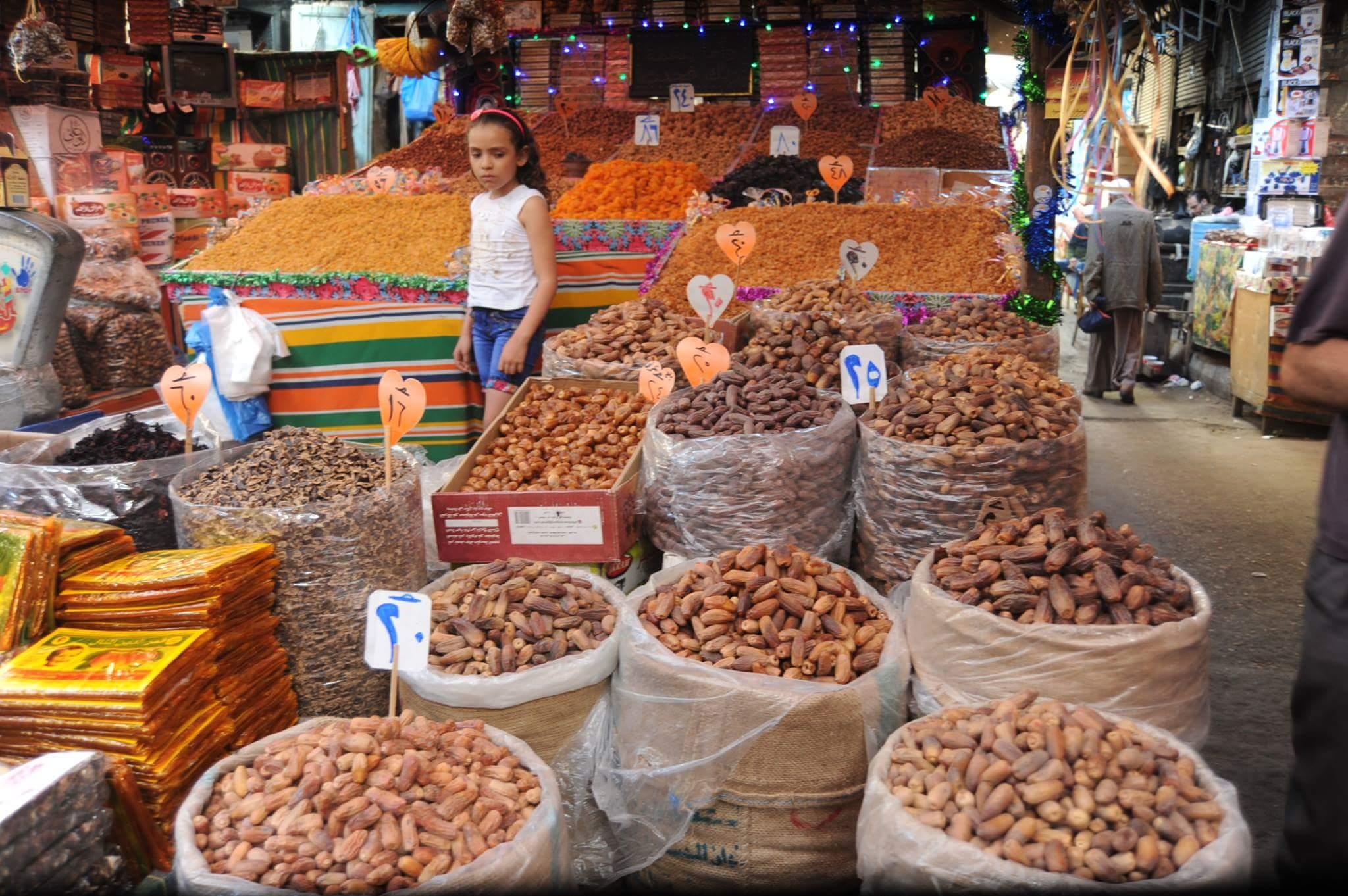 الركود يسيطر على أسواق الياميش بالإسكندرية (4)