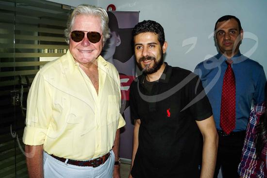 زيارة حسين فهمي لصوت الأمة (7)