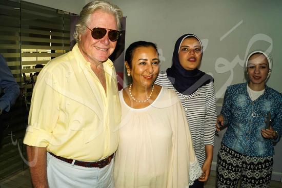 زيارة حسين فهمي لصوت الأمة (9)