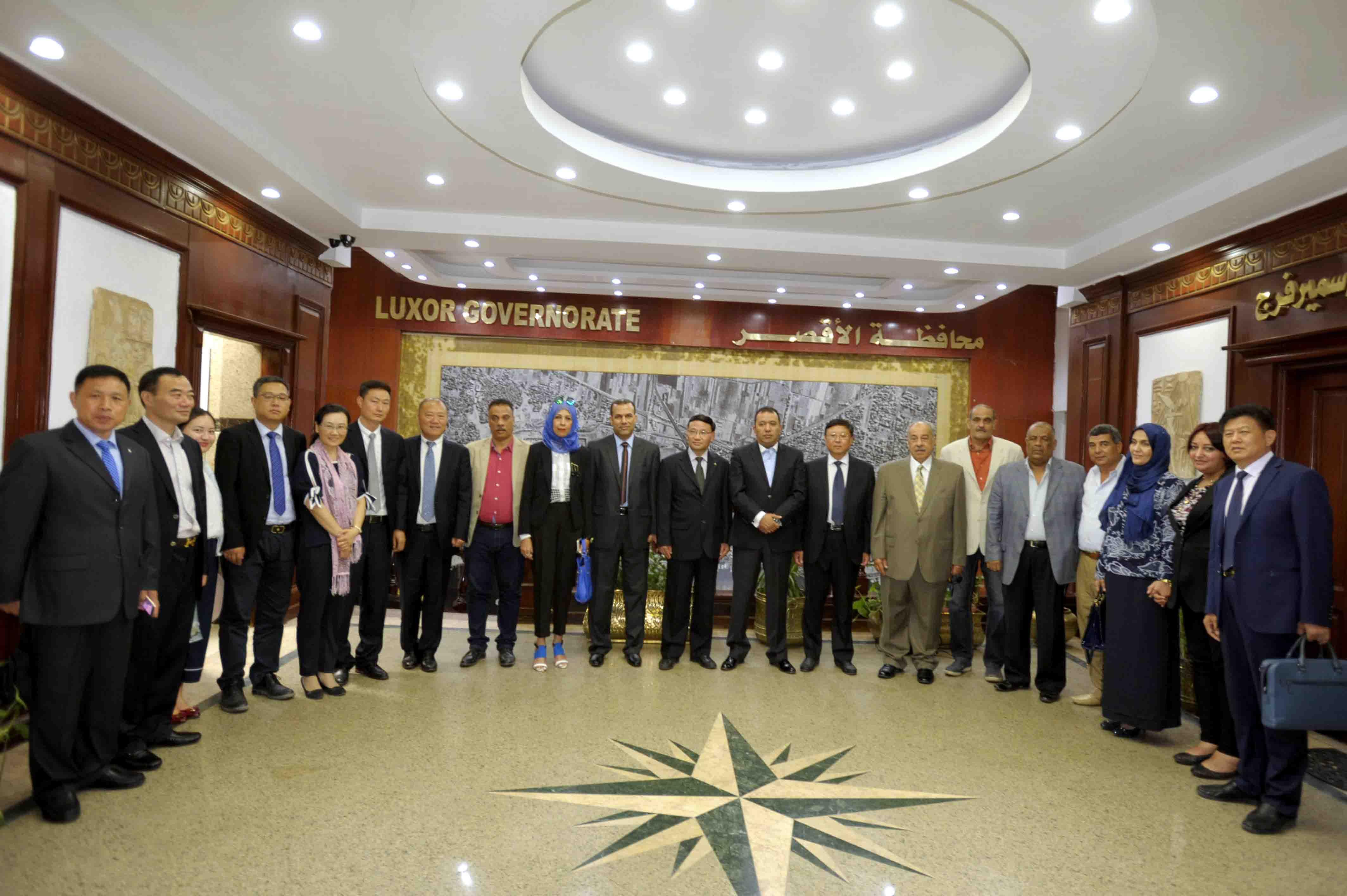 الأقصر توقع إتفاقية تآخي بكافة المجالات مع مدينة يانجشتو الصينية (2)