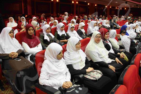 الاحتفال بالفائزين فى مسابقة تحدى القراءة العربية (1)