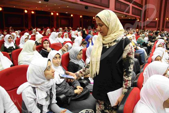 الاحتفال بالفائزين فى مسابقة تحدى القراءة العربية (20)