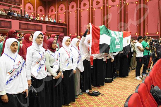 الاحتفال بالفائزين فى مسابقة تحدى القراءة العربية (14)