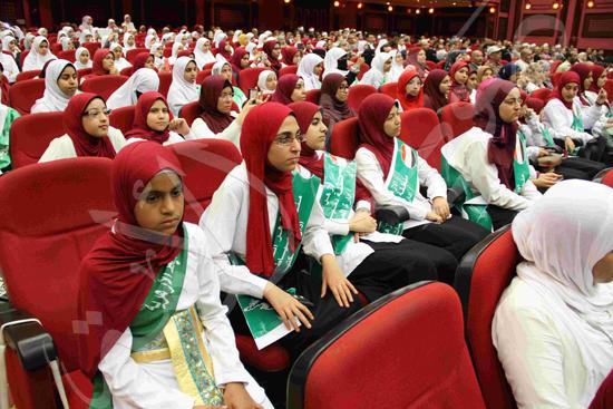 الاحتفال بالفائزين فى مسابقة تحدى القراءة العربية (18)