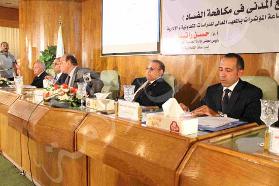 مؤتمر  دور منظمات المجتمع المدني في مكافحة الفساد (3)