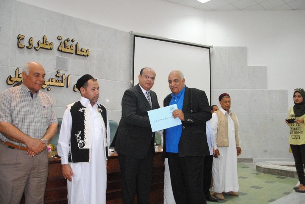 محافظ مطروح يكرم رموز المحافظة وأسماء أبطال وادي ماجد  (7)