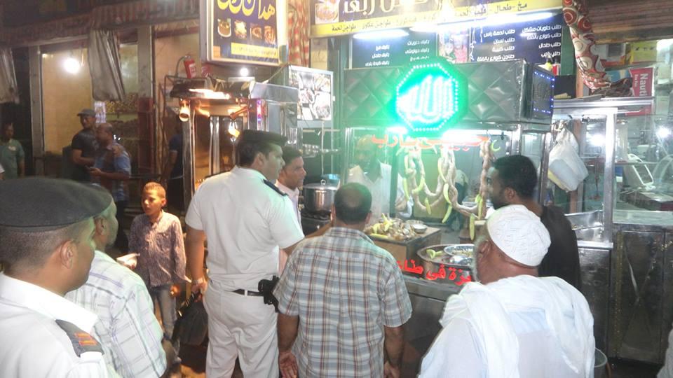 حملات اشغالات ليلة العيد (2)