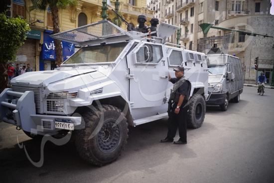 مدير أمن القاهرة يتفقد الخدمات الأمنية ويهنئ المواطنين بالمتنزهات (4)