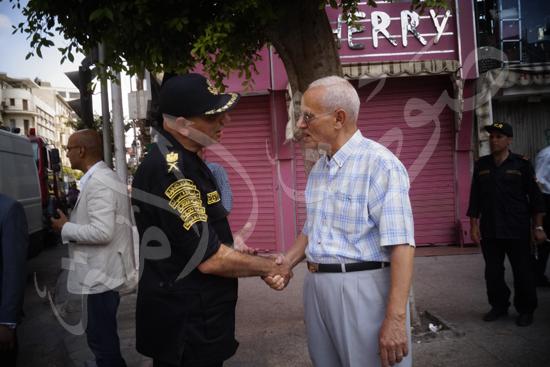 مدير أمن القاهرة يتفقد الخدمات الأمنية ويهنئ المواطنين بالمتنزهات (5)