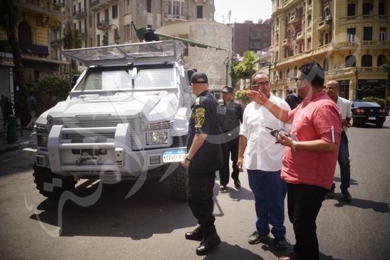 مدير أمن القاهرة يتفقد الخدمات الأمنية ويهنئ المواطنين بالمتنزهات (1)