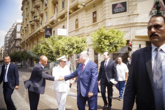 مدير أمن القاهرة يتفقد الخدمات الأمنية ويهنئ المواطنين بالمتنزهات (10)