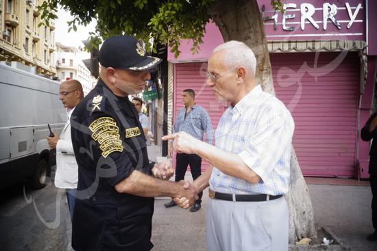 مدير أمن القاهرة يتفقد الخدمات الأمنية ويهنئ المواطنين بالمتنزهات (6)