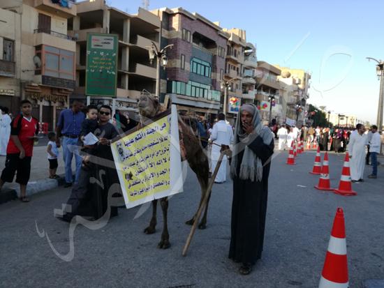 محافظ الاقصر ومدير الامن يشهدان صلاة العيد (7)