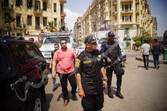 مدير أمن القاهرة يتفقد الخدمات الأمنية ويهنئ المواطنين بالمتنزهات (11)
