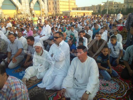 3- جانب من المصليين في استاد كفر الشيخ