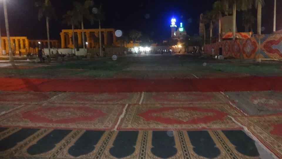 تجهيز ساحات صلاة العيد بالأقصر (3)