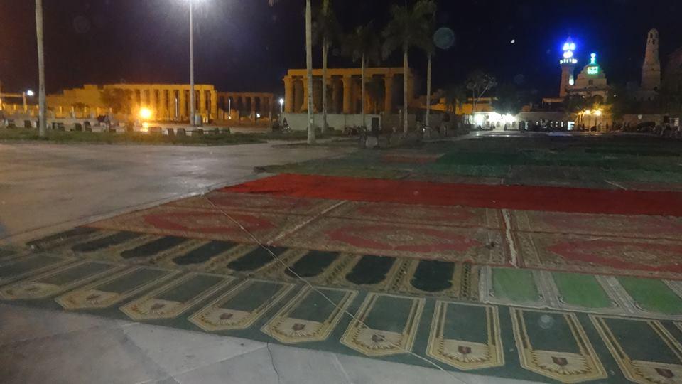 تجهيز ساحات صلاة العيد بالأقصر (1)