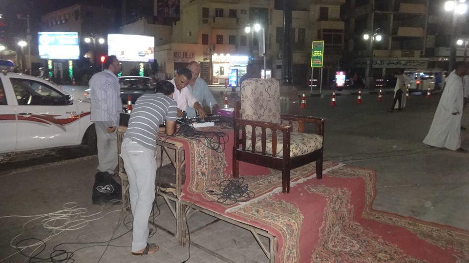 تجهيز ساحات صلاة العيد بالأقصر (2)