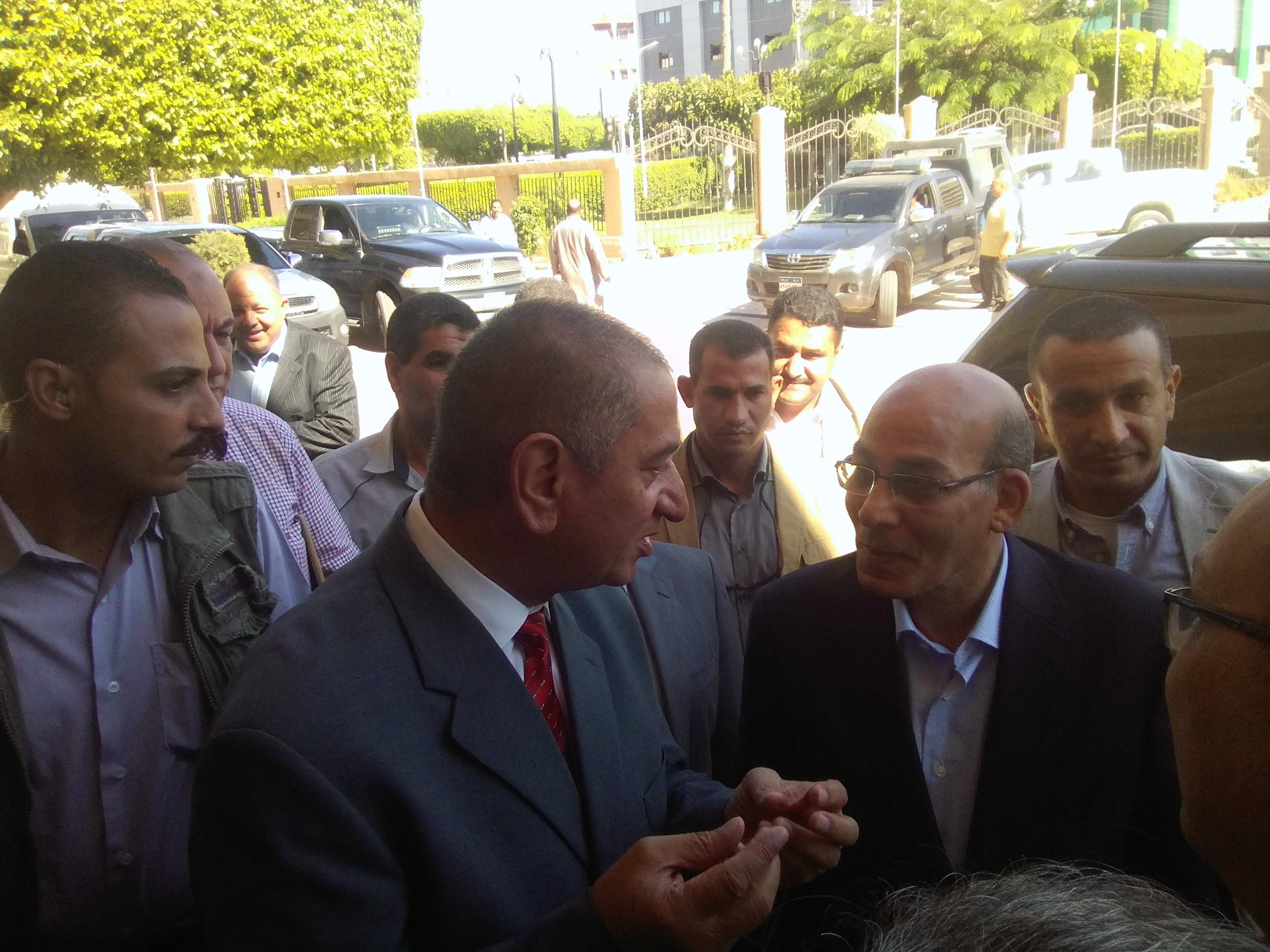 محافظ كفر الشيخ يستقبل وزير الزراعة  (3)