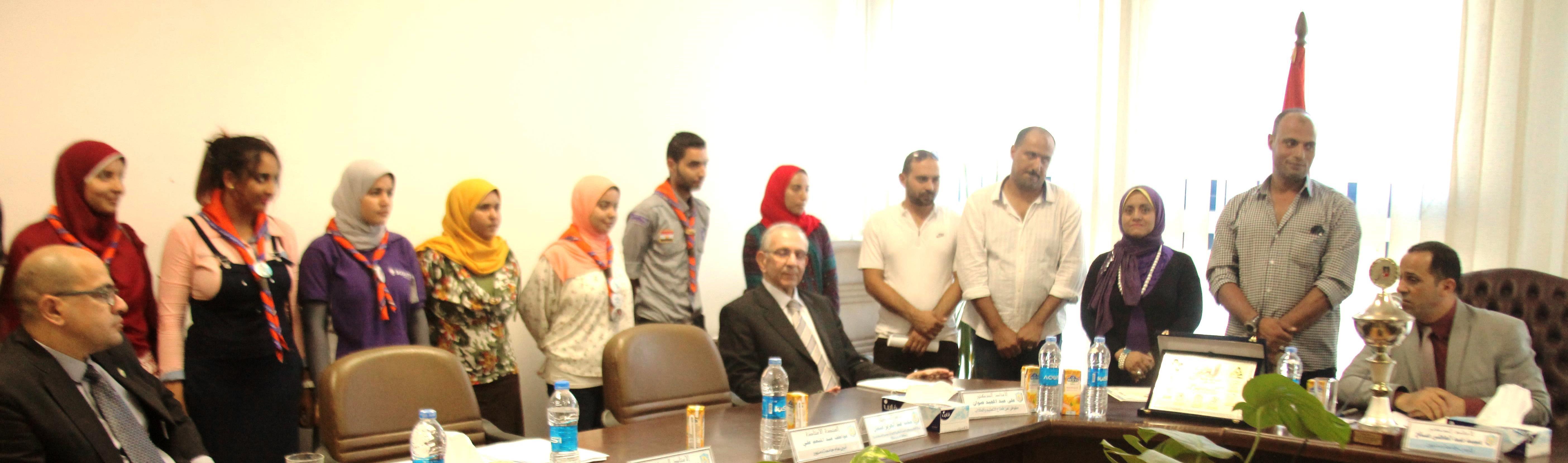 جامعة دمنهور تحصل على المركز الأول على مستوى الجامعات المصرية  4