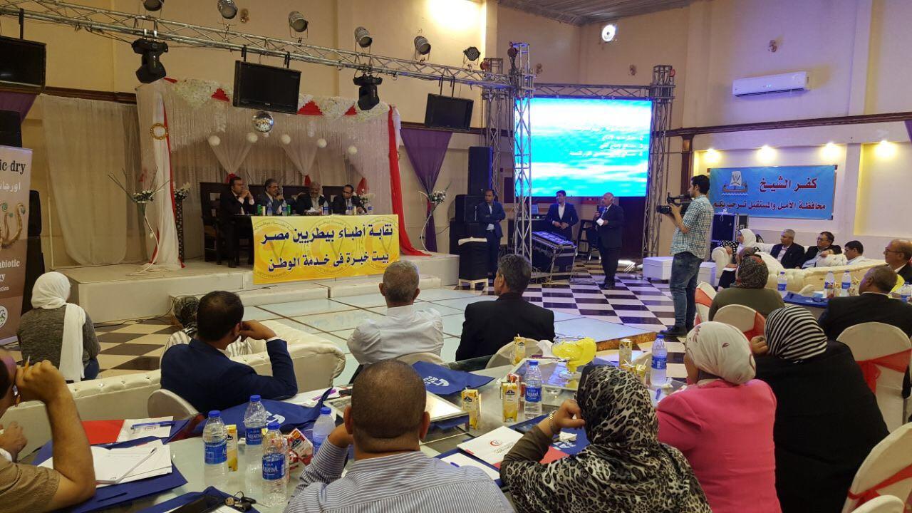 ورشة عمل للأطباء البيطريين عن تطوير الثروة السمكية بكفر الشيخ  (6)