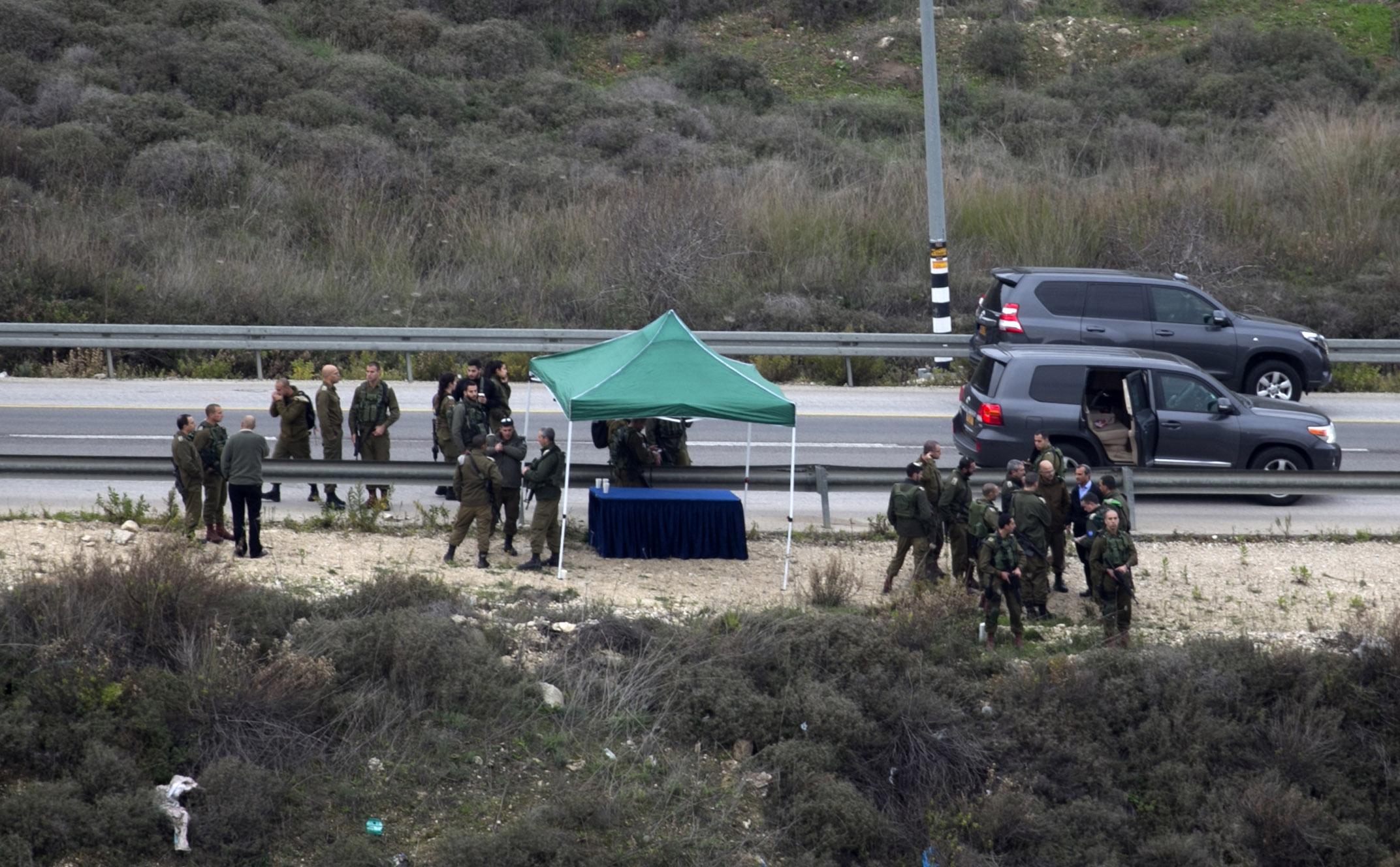 صور قوات الاحتلال تحاصر نابلس