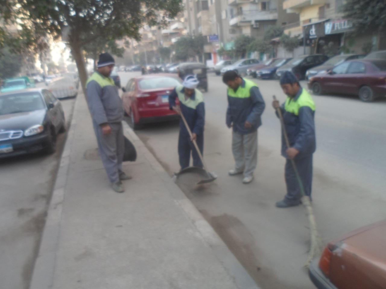 شارع خاتم المرسلين بالعمرانية (1)