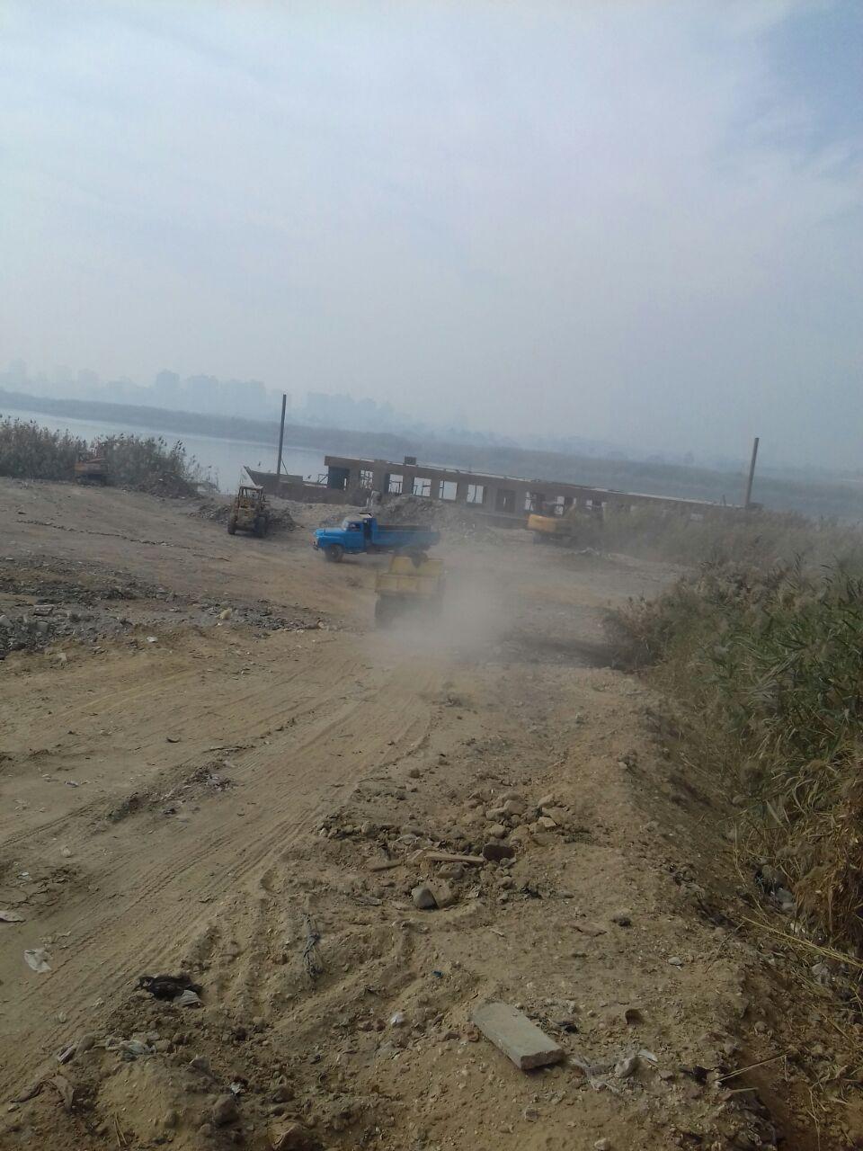 رئيس قطاع حماية النيل عن إزالات اليوم أصحابها لهم باع طويل في التعديات (4)