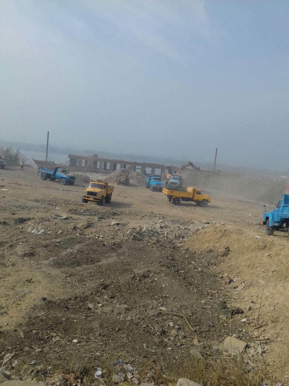 رئيس قطاع حماية النيل عن إزالات اليوم أصحابها لهم باع طويل في التعديات (11)
