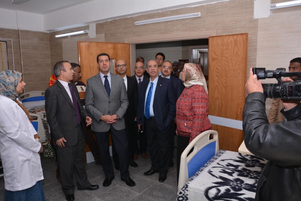 قريبًا افتتاح أكبر مستشفي متخصص في الإصابات والطوارئ فى أسيوط (14)