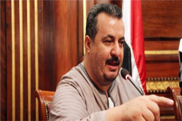 ممدوح حمادة رئيس الاتحاد التعاونى الزراعي