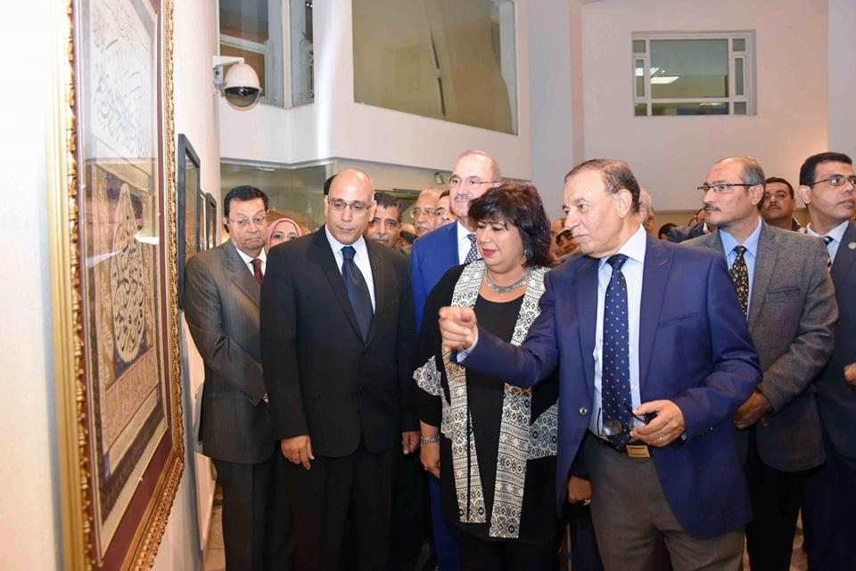 الدكتورة ايناس عبد الدايم وزير الثقافة  (2)
