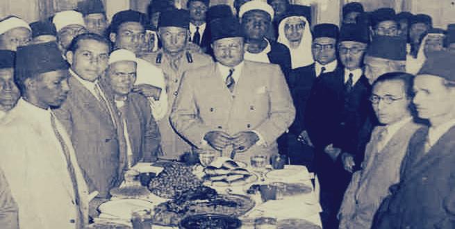 الملك فاروق فى رمضان