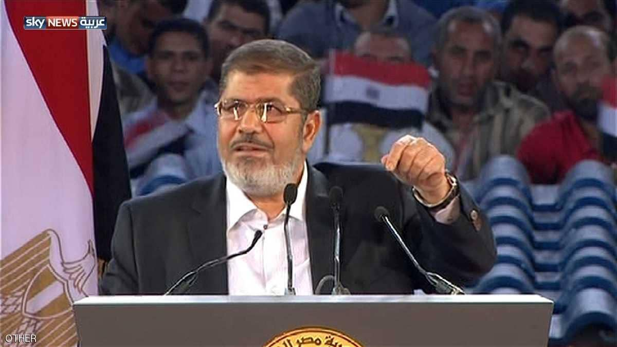 المعزول مرسى فى خطاب نصر اكتوبر