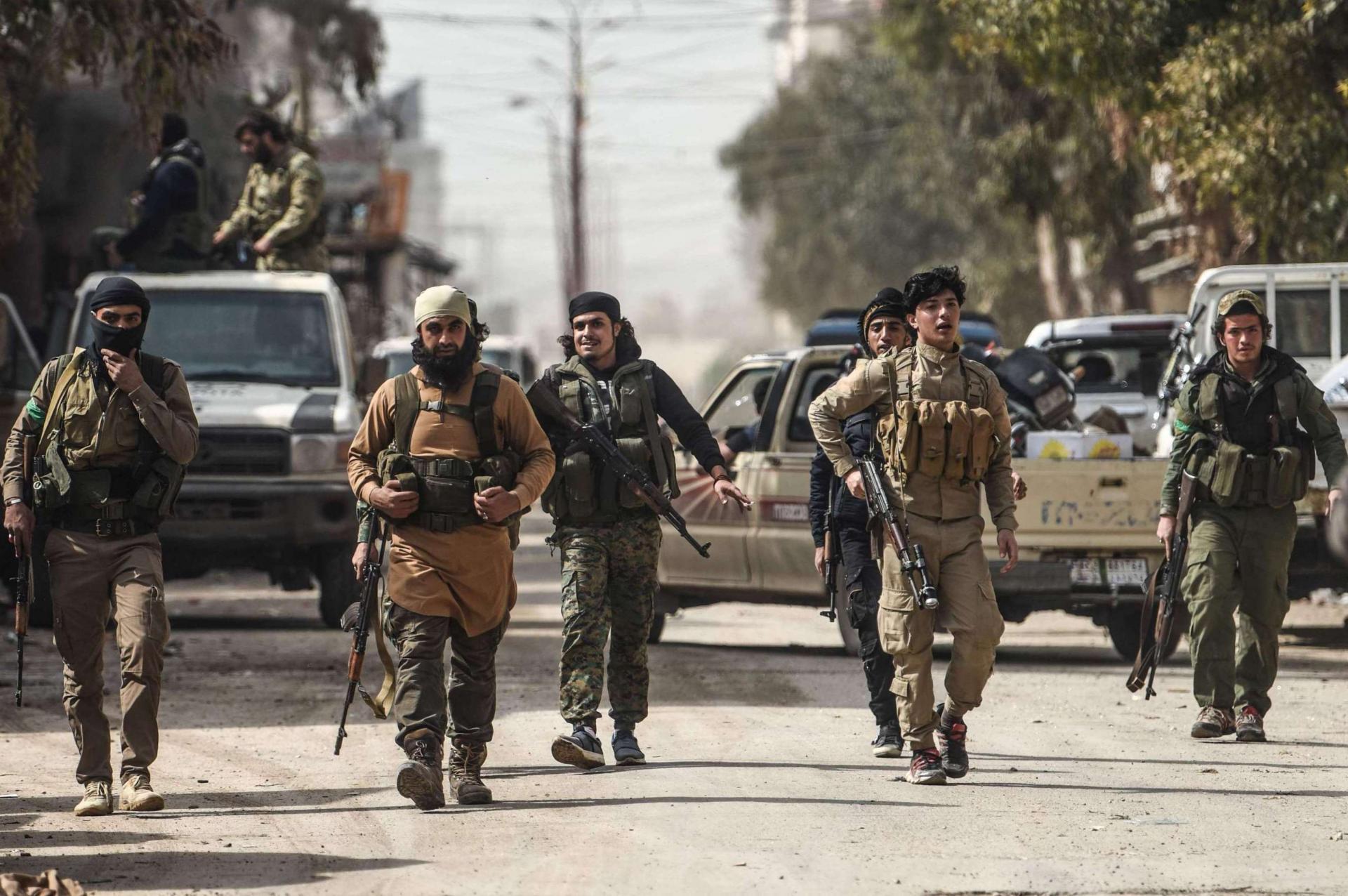 المقاتلون الاجانب في سوريا