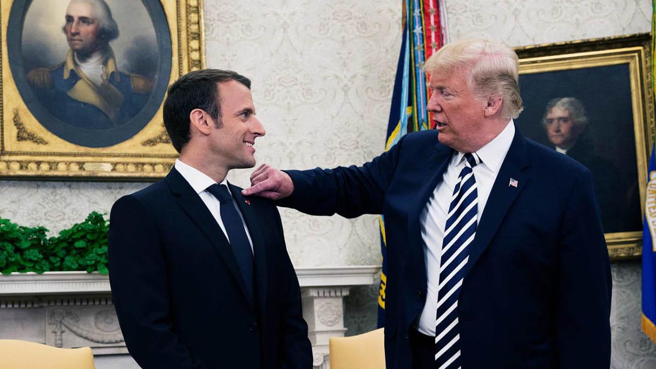 الرئيسين الأمريكى والفرنسى