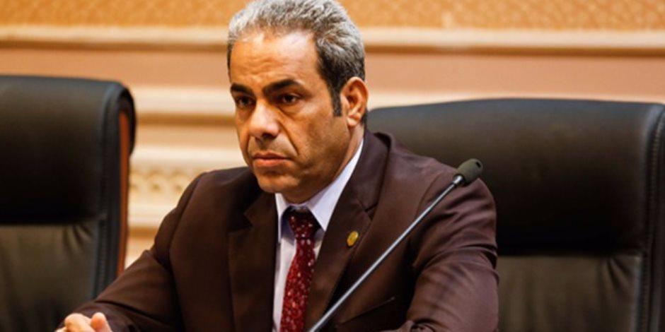 النائب عاطف مخاليف عضو لجنة الشئون الاقتصادية بمجلس النواب