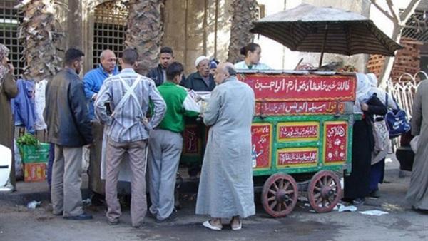 عربات الفول فى مصر