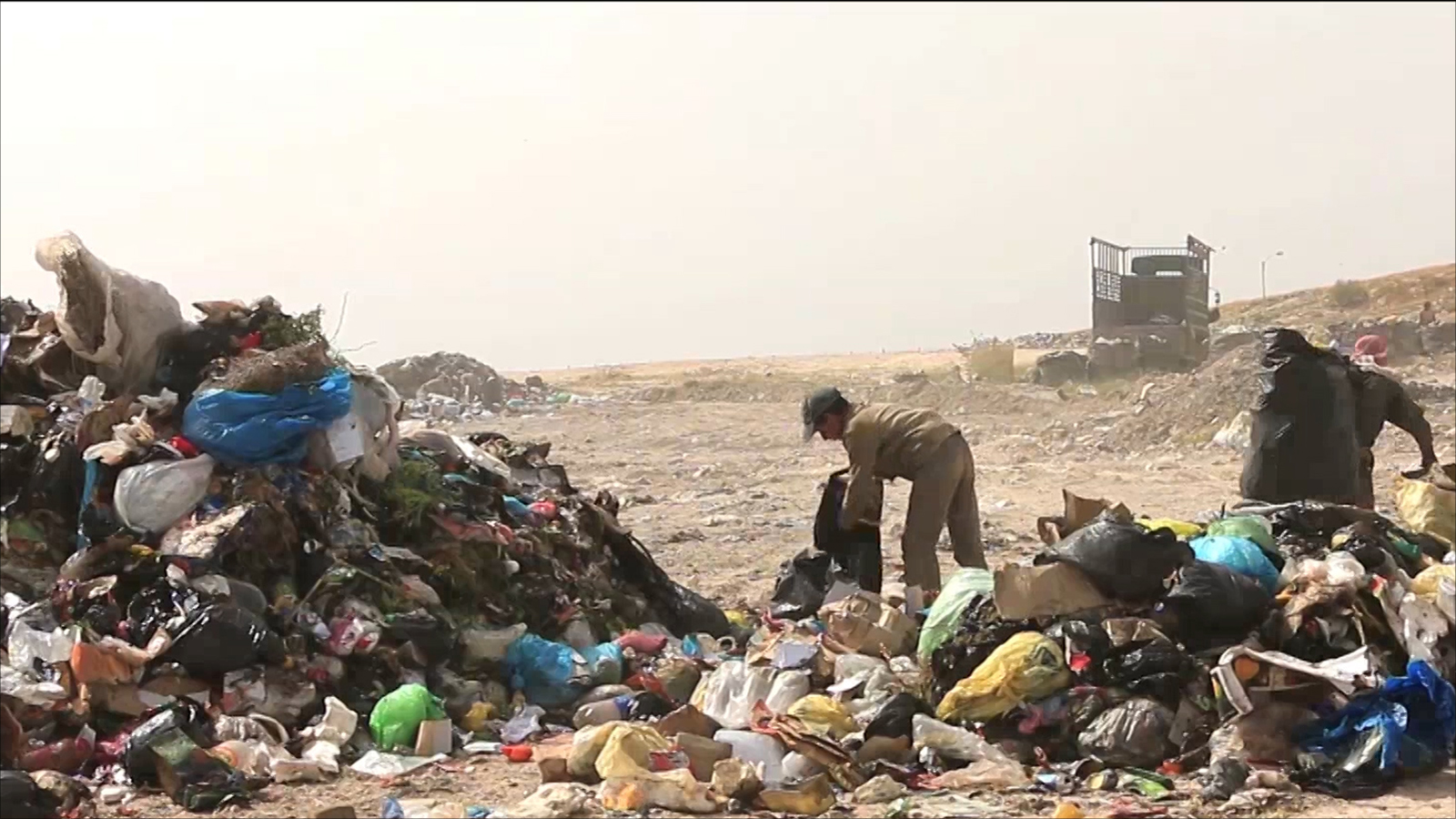 نباشي القمامة