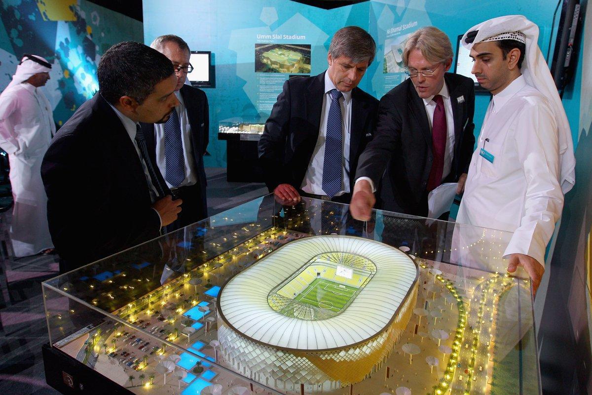 استعدادات تنفيذ كاس العالم 2022