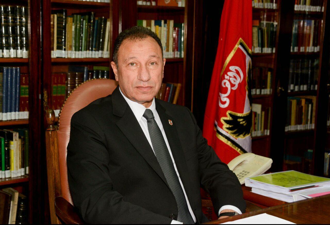 محمود الخطيب رئيس الاهلى