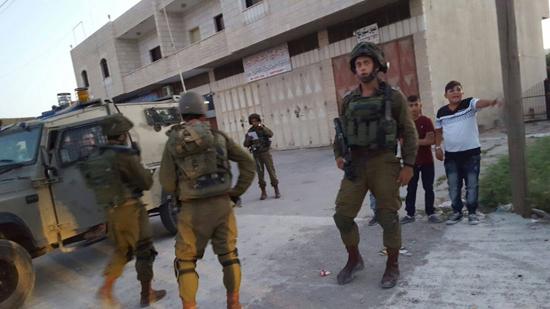 جنود الاحتلال في بلدة كفر الديك (2)