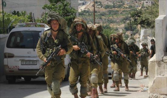 جنود الاحتلال في بلدة كفر الديك (1)