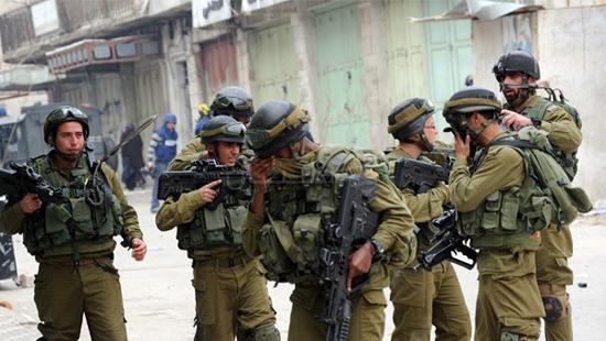 جنود الاحتلال في بلدة كفر الديك (5)