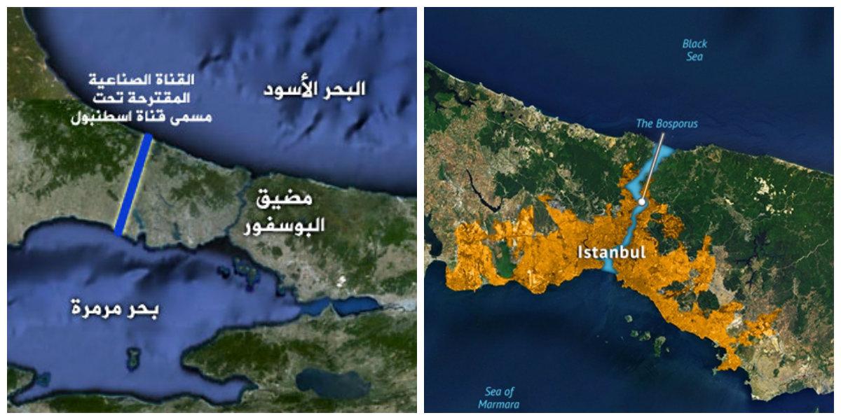 مشروع قناة اسطنبول