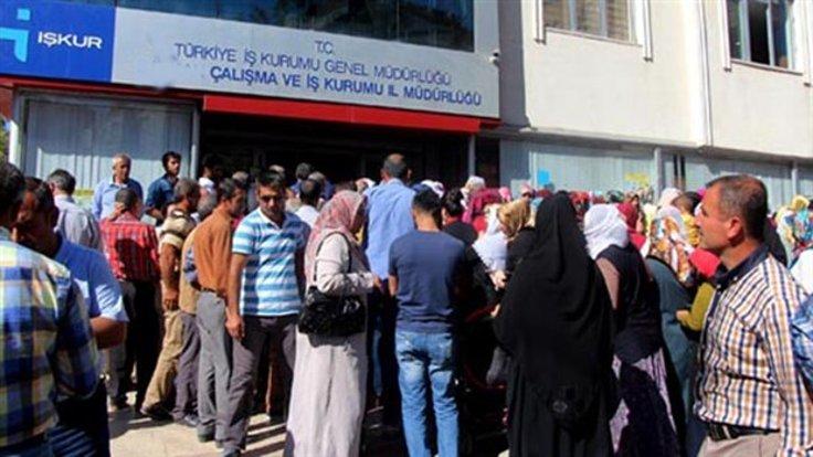 ارتفاع معدلات البطالة فى تركيا
