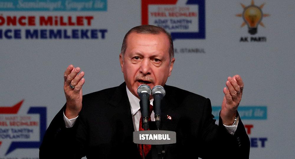 اردوغان على قناة مليت التركية